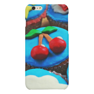 Cupcakes Matte iPhone 6 Plus Case