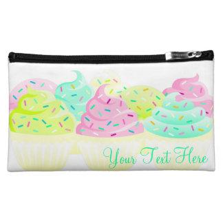 Cupcakes N Sprinkles Custom Clutch Bag Wristlet