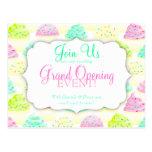 Cupcakes N Sprinkles Custom Grand Opening Postcard
