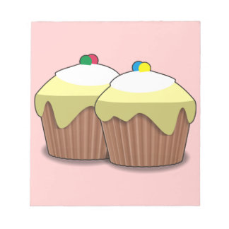 Cupcakes Notepad