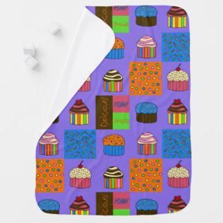 Cupcakes Pattern Baby Blanket