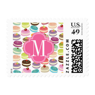 Cupcakes Personalized Stamp