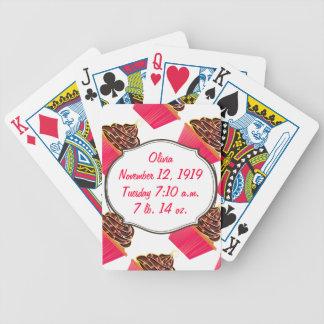 Cupcakes Poker Deck