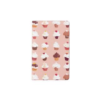 Cupcakes Pocket Moleskine Notebook