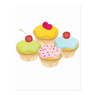 Cupcakes Post Card