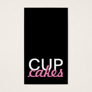 cupcakes punch card