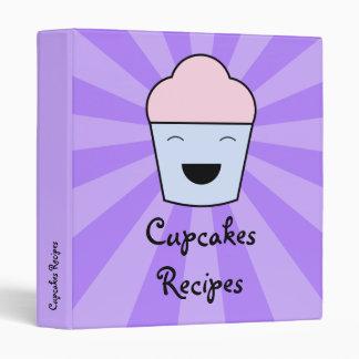 Cupcakes Recipes Binder