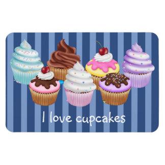 Cupcakes Rectangular Photo Magnet