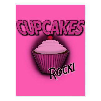 Cupcakes Rock! Post Card