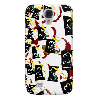Cupcakes school clear background galaxy s4 case