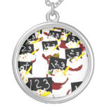 Cupcakes school clear background pendant
