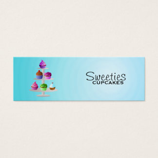 Cupcakes Skinny Business Cards