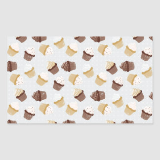 Cupcakes Rectangle Stickers