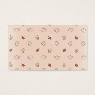 Cupcakes & Tea cups! Business Card