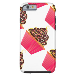 Cupcakes Tough iPhone 6 Case
