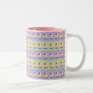 Cupcakes Two-Tone Coffee Mug