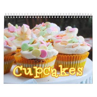 Cupcakes Wall Calendar