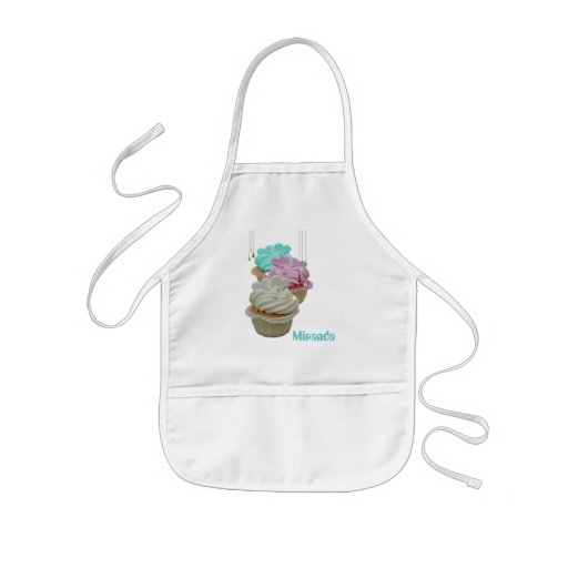 Cupcakes with Bling! Apron