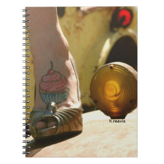 Cupcakes with Cherries Notebook
