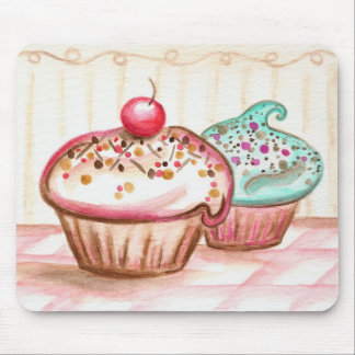 Cupcakes with Sprinkles Mousepad