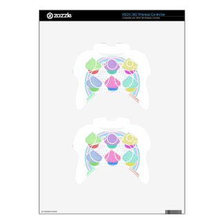 Cupcakes Xbox 360 Controller Skins