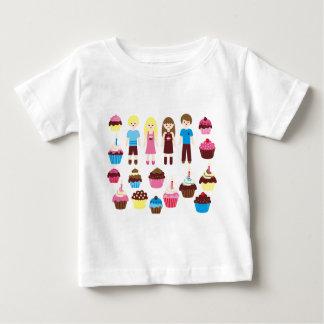 CupcakesPinkBlue1 Baby T-Shirt