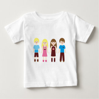 CupcakesPinkBlue2 Baby T-Shirt