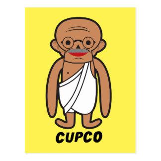 CUPCO GANDHI POSTCARD