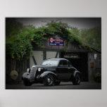 Cupé 1937 de Chevy Poster