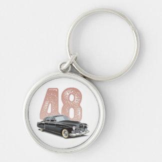 Cupé 1948 de Cadillac del vintage: Coche clásico n Llaveros Personalizados