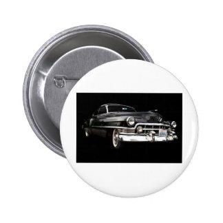 Cupé 1950 de Cadillac Pin Redondo 5 Cm