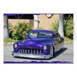 Cupé 1950 de Mercury (tajado) Felicitacion