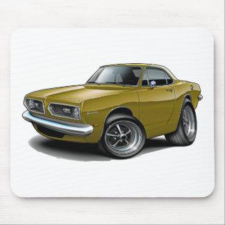 Cupé 1967-69 del oro del Barracuda Tapete De Raton