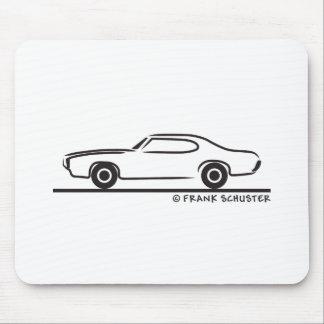Cupé 1969 de Pontiac GTO Tapetes De Ratón