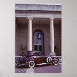 Cupé clásico del Benz 540K de Mercedes Poster