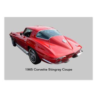 Cupé clásico del Corvette Tarjetas De Visita Grandes