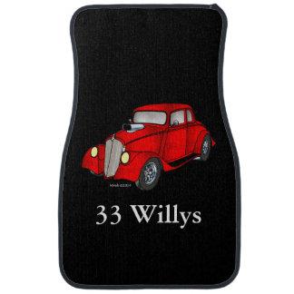 Cupé de 33 Willys Alfombrilla De Coche