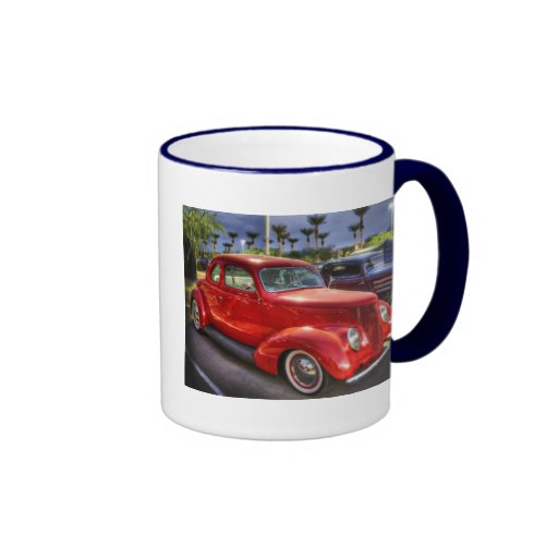 Cupé de 37 Ford Taza De Dos Colores
