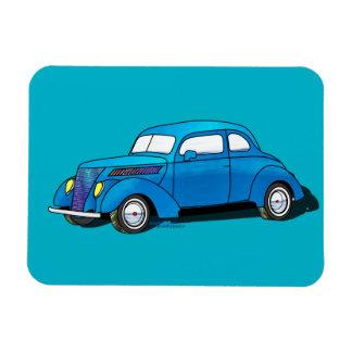 Cupé de club de 37 Ford Imanes De Vinilo