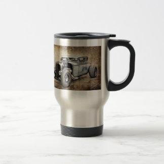 Cupé del coche de carreras taza de viaje