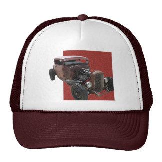Cupé oxidado gorras de camionero