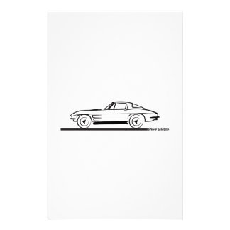 Cupé partido 1963 de la ventana del rayo de Sting  Papeleria De Diseño