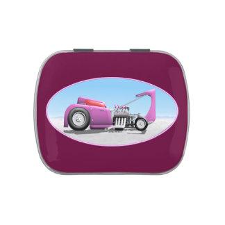 Cupé púrpura de Ford de la pasión 32 Frascos De Caramelos