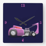 Cupé púrpura de Ford de la pasión 32 Reloj De Pared