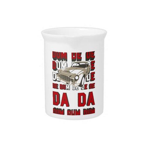 Cupé von 1963 jarras para bebida