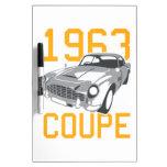 Cupé von 1963 tableros blancos