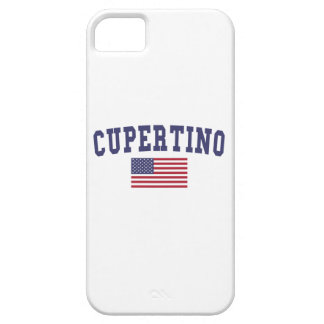 Cupertino US Flag iPhone SE/5/5s Case