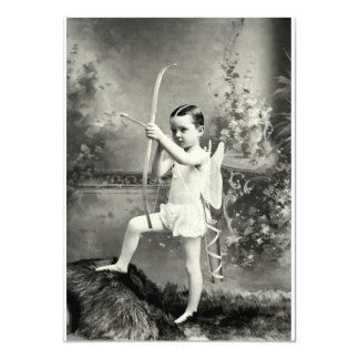 """Cupid 1880 en el trabajo invitación 5"""" x 7"""""""