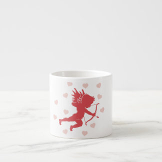 Cupid and Hearts Espresso Cup