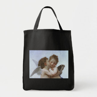 Cupid and Psyche as Babys Canvas Bag